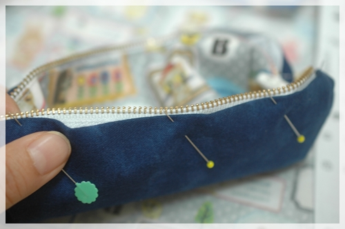 内布だけまつり縫い