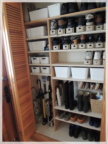 皆さんも靴箱収納を見直してみてくださいね!