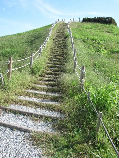 階段… これを登るって…