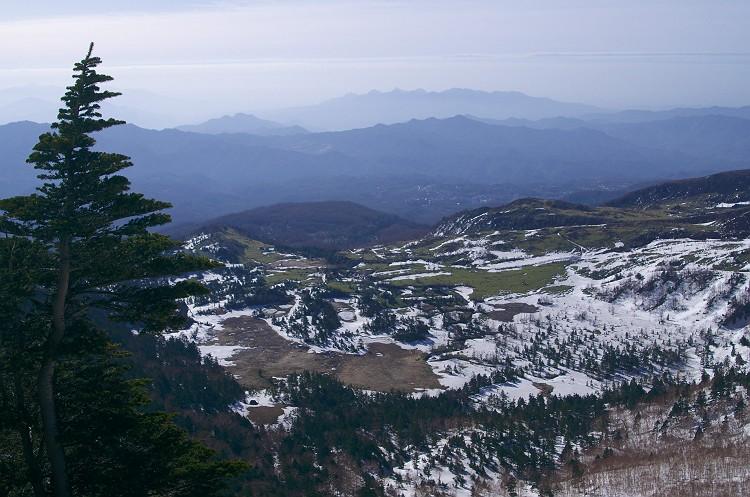 雪の渋峠 2