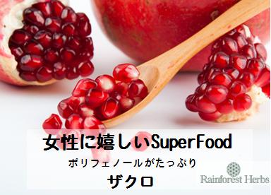 20131226 ザクロsuper food