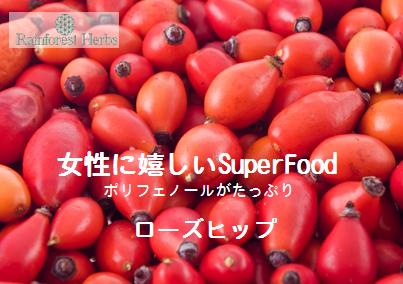 20140107 ローズヒップ スーパーフード