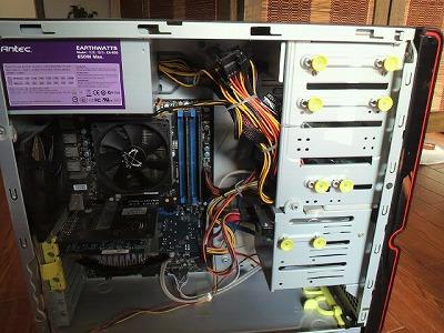 デスクトップPC内部