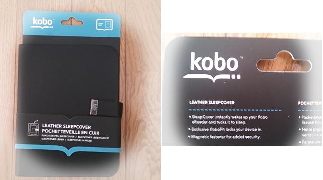kobo glo 専用カバー スリープカバー パッケージ