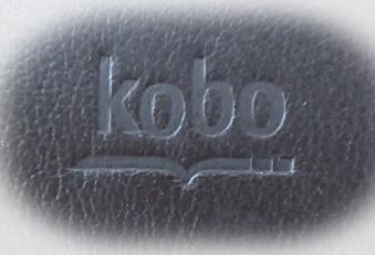 kobo glo 専用カバーのロゴ部分
