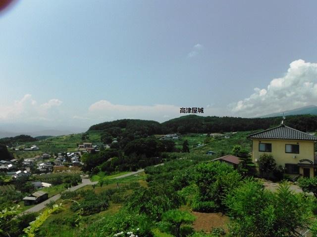 高津屋城遠景 (2)