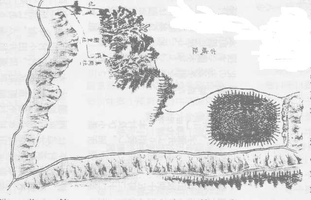 加増城古図