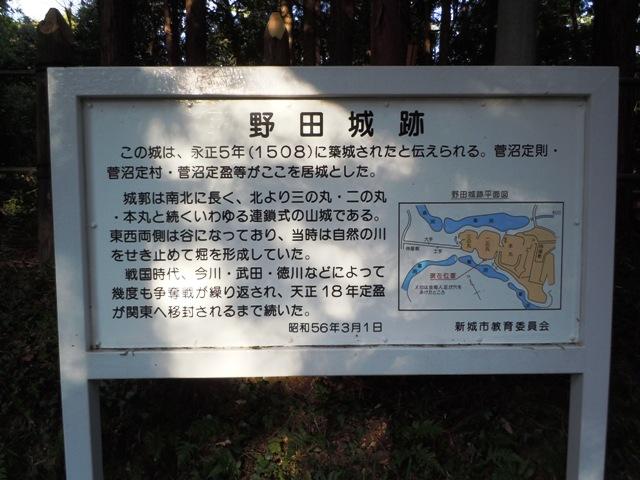 野田城(三河) (3)