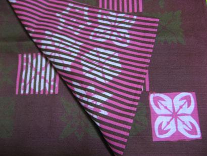 風呂敷 折り紙 ピンク