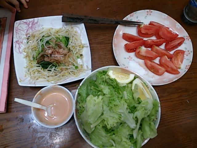 父の日サラダ