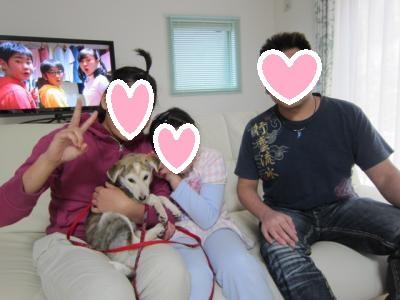 初めての家族写真
