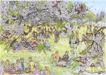 御苑の桜(いち)よう