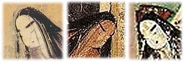 平安時代の丸顔画