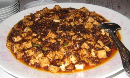陳まーぼー豆腐・・・白ご飯と一緒に.jpg