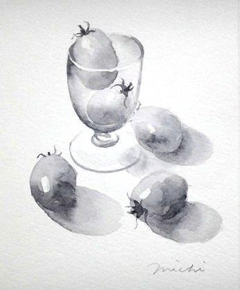 モノクロトマト2
