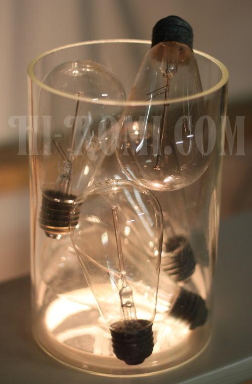 古い電球、エジソン球、Hi-Romi.com(ハイロミドットコム)アンティークランプ、ライト照明、灯り、修理、製作、リモデリング、オーバーホール、店舗設計、照明計画 20130430-1