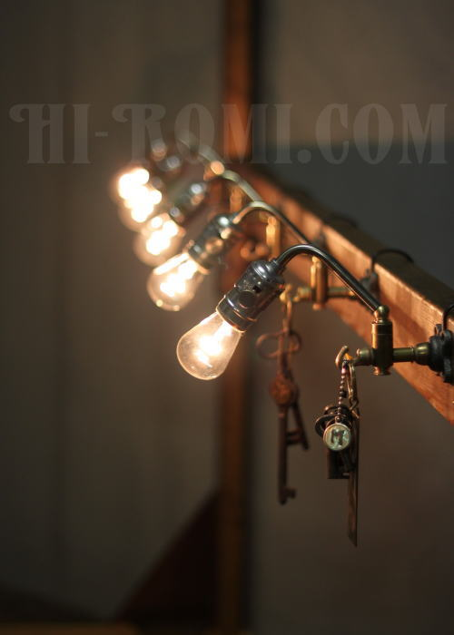 USAインダストリアルスウィングアーム壁掛ブラケット 工業系壁掛ライト 照明計画 店舗設計 新築 新居 関西 神戸 Hi-Romi.com ハイロミドットコム 20130603-1