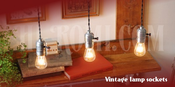 アンティーク ヴィンテージ 工業系 インダストリアル ソケットペンダント ランプ ライト 照明 関西 神戸 Hi-Romi.com ハイロミドットコム