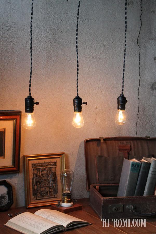 アメリカ アンティーク ヴィンテージ ペンダント ソケット  ランプ 照明 ライト 輸入 販売 修理 関西 神戸 大阪 店舗設計 照明計画 / アメリカ買付
