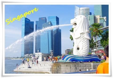 シンガポール1日目①