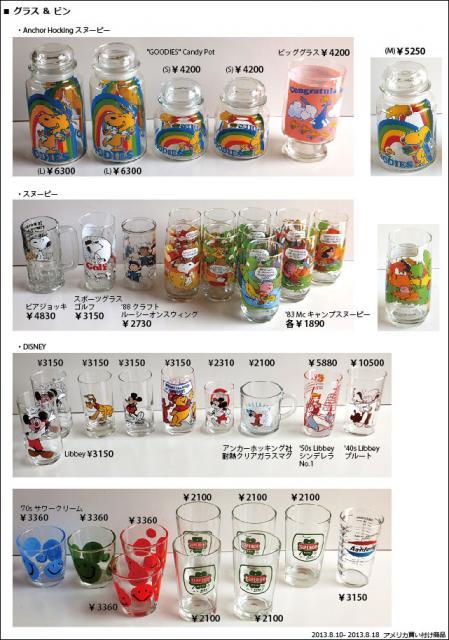 2013_8 アメリカ買い付け商品