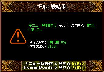 20140119 ギニュー特戦隊_E様 結果