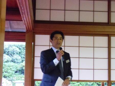古田代表幹事挨拶