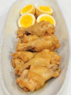 鶏手羽元のフルブラ煮込み
