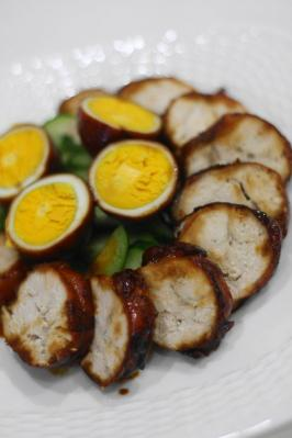 焼酎で鶏チャーシュー