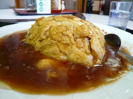 龍翔園:エビ玉子丼定食3