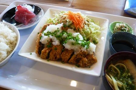 海神丸:おろしトンカツ定食