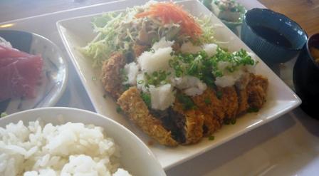 海神丸:おろしトンカツ定食2