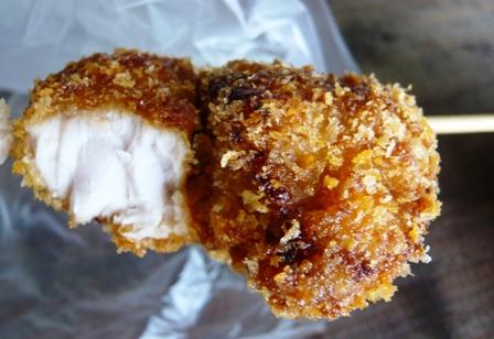 天ぷら家:マグロ串カツ