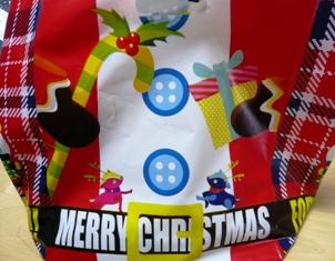 セブンベルズ:シュトーレン用クリスマス袋