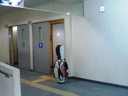 離島ターミナル:ゴルフバッグ