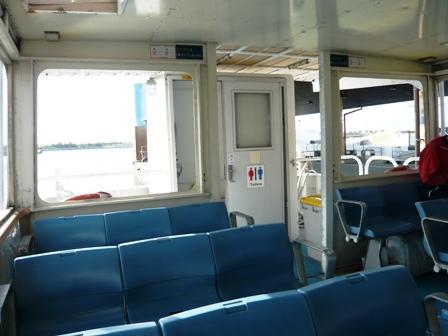 離島ターミナル:ちゅらさん船内1