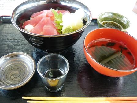 Sanufa細崎:近海マグロ丼
