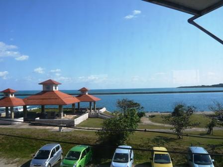 ボブズカフェ:港方面の眺望
