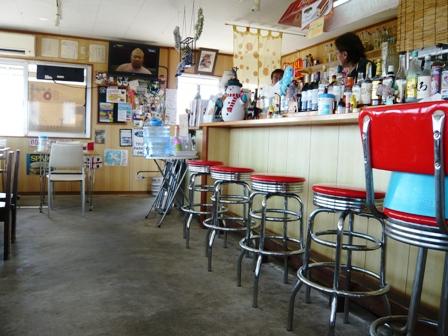 ボブズカフェ:店内