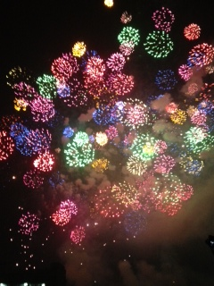 かわいい花火