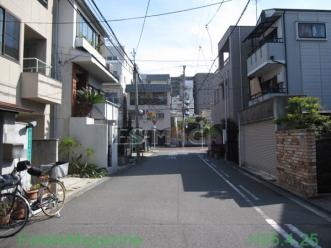 西田辺前面道路2