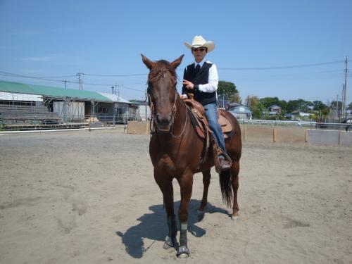 ブログ三浦さん馬