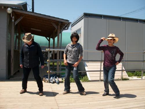 ブログ三浦さんダンス