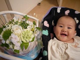 130530_お花とななちゃん★