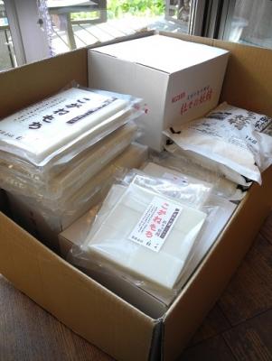 20131225杜々の餅&お米