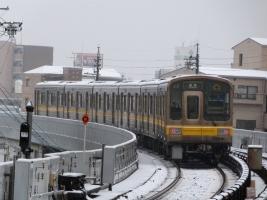 東山線in雪
