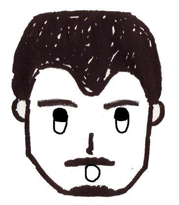 塾長似顔絵2
