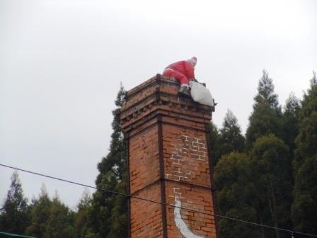 しん窯煙突サンタ2(2013-12-26)