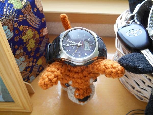 鈴子ちゃんと時計