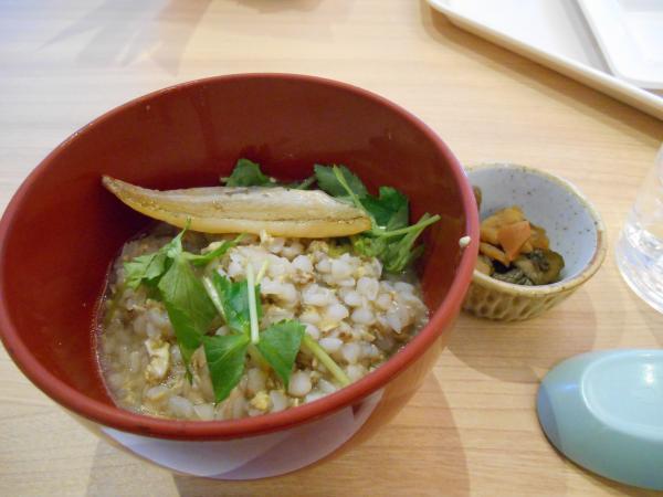 蕎麦の実かゆ